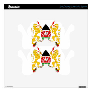 Kenya Coat of Arms PS3 Controller Skin