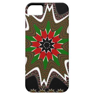 Kenya Coffee brown bordered design iPhone SE/5/5s Case