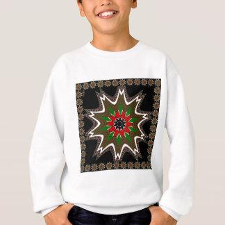 Kenya Coffee brown bordered design Sweatshirt