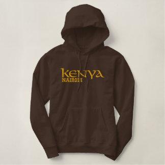 KENYA FEMALE T-SHIRT EMBROIDERED HOODED SWEATSHIRTS