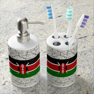kenya flag bathroom set - Bathroom Accessories Kenya