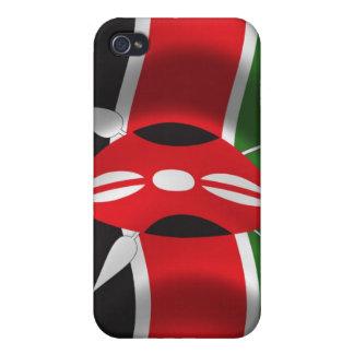 Kenya Flag for iPhone 4 iPhone 4 Case