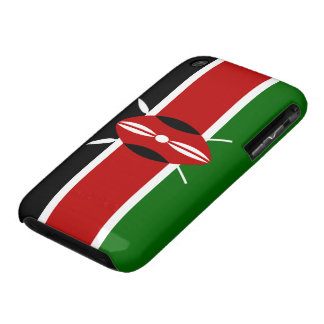 Kenya Flag iPhone 3 Case