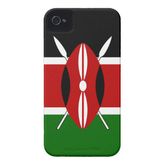 Kenya Flag iPhone 4 Case