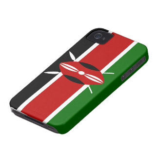 Kenya Flag iPhone 4 Case-Mate Case