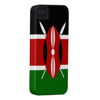 Kenya Flag iPhone 4 Cover