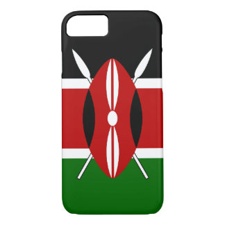 Kenya Flag iPhone 7 Case
