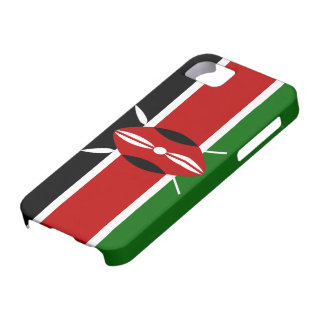 Kenya Flag iPhone SE/5/5s Case
