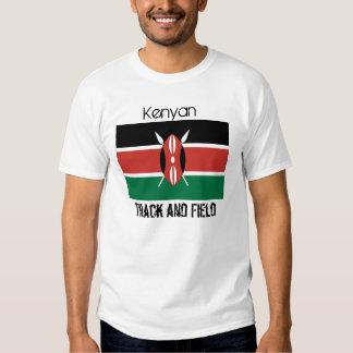 Kenya_flag, Kenyan, Track and Field Tee Shirt