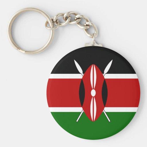 Kenya Flag Key Chains