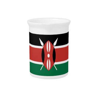 Kenya Flag Pitcher