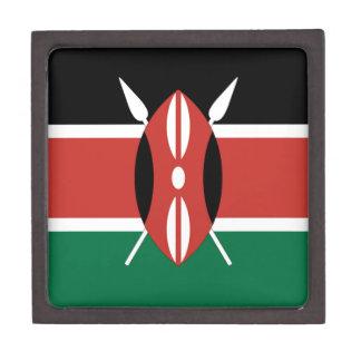 Kenya Flag Premium Keepsake Box