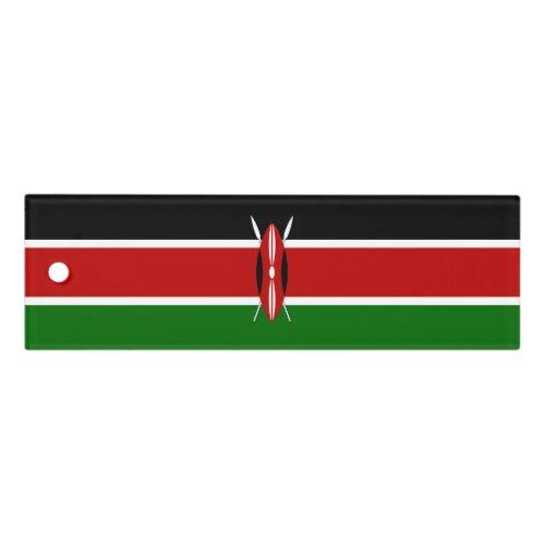 Kenya Flag Ruler