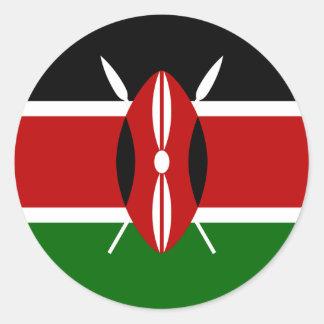 Kenya Flag Sticker