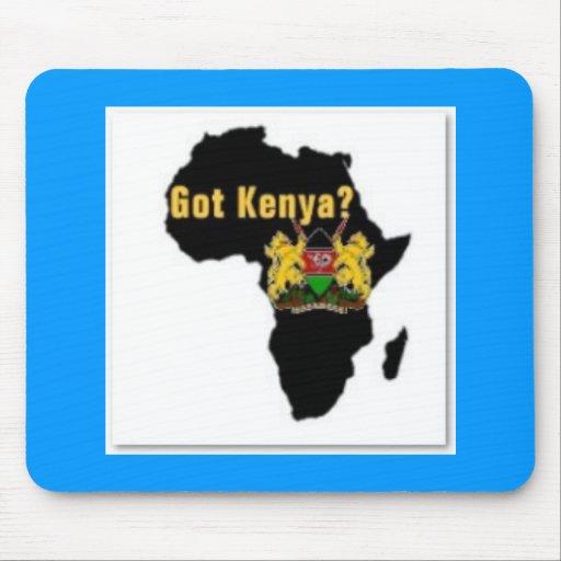 Kenya Flag T-Shirt  And Etc Mouse Pad