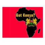 Kenya Flag T-Shirt  And Etc Postcard
