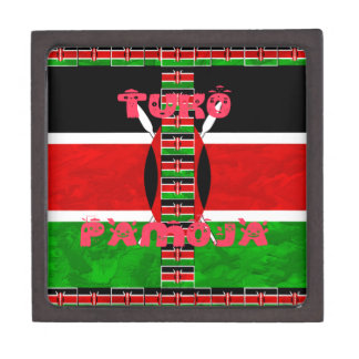 Kenya Flag Tuko Pamoja Gift Box