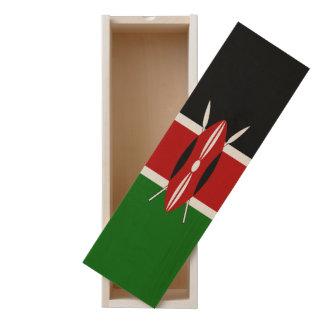 Kenya Flag Wooden Keepsake Box