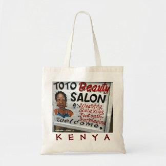 Kenya Funny Sign Tote Bag