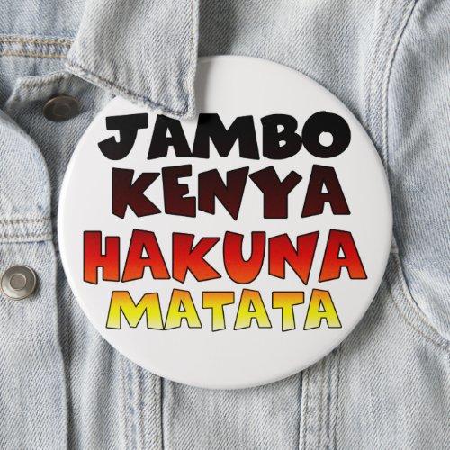 Kenya Hakuna Matata Button