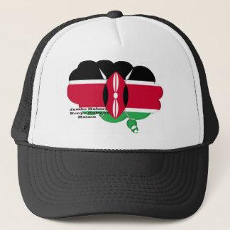 Kenya Hakuna Matata Trucker Hat