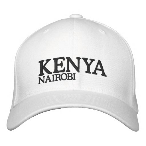 KENYA HATS EMBROIDERED HATS