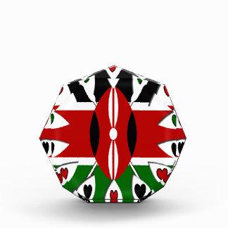 Kenya Hearts Acrylic Award