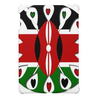 Kenya Hearts iPad Mini Cases