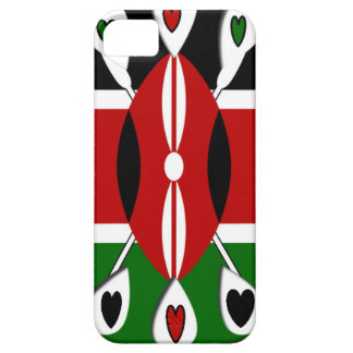 Kenya Hearts iPhone SE/5/5s Case