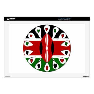 Kenya Hearts Skin For Laptop