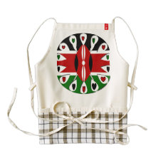 Kenya hearts ZAZZLE HEART APRON