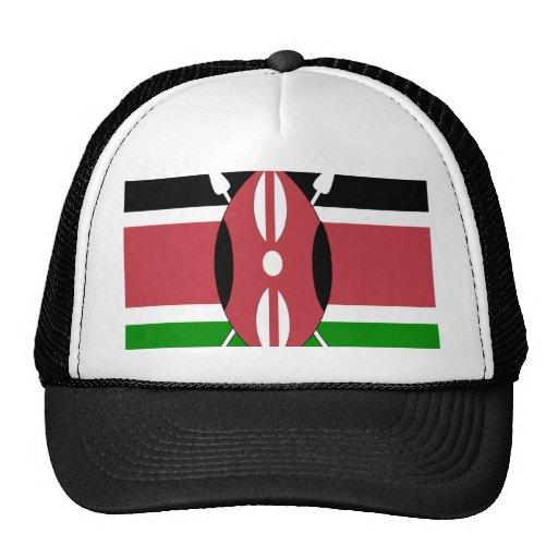 Kenya High quality Flag Trucker Hat