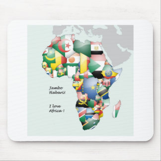 Kenya In Africa Mouse Pad