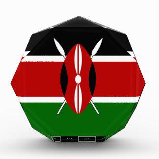 Kenya Kenyan Flags Acrylic Award