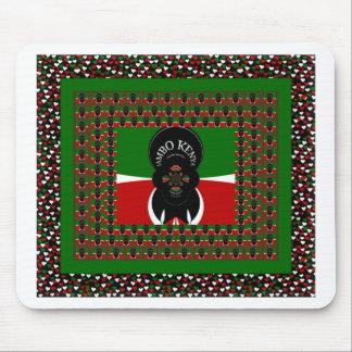 Kenya lovely heats mouse pad