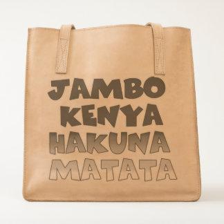 Kenya  Make it Kenyan Tote