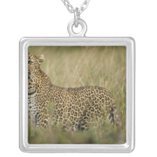 Kenya, Masai Mara Game Reserve. African 3 Custom Necklace