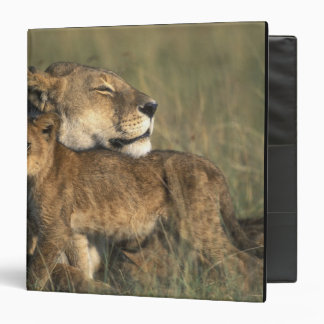 Kenya, Masai Mara Game Reserve, Lioness Binder