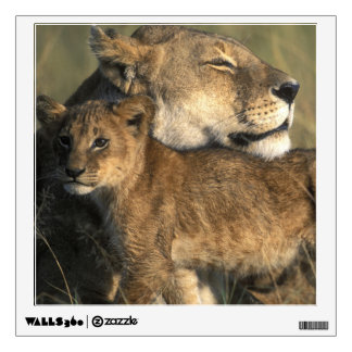 Kenya, Masai Mara Game Reserve, Lioness Wall Decal