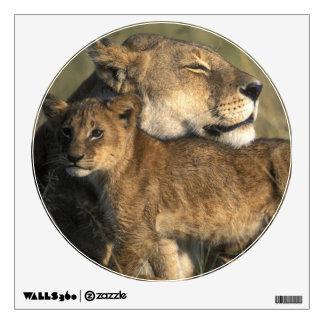 Kenya, Masai Mara Game Reserve, Lioness Wall Sticker