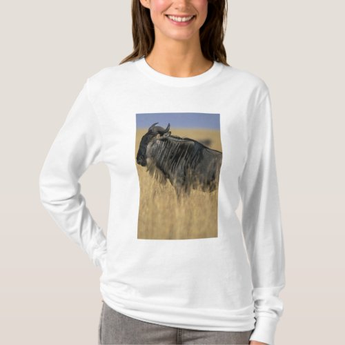 Kenya Masai Mara Game Reserve Wildebeest T_Shirt