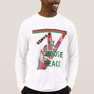 Kenya Nairobi Mombasa Kisumu I choose peace T-Shirt