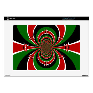 Kenya national flag Hakuna Matata Laptop Decal