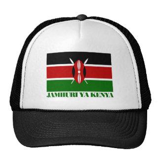 Kenya National Flag Trucker Hat