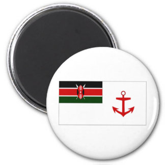 Kenya Naval Ensign 2 Inch Round Magnet