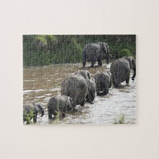 Kenya, No Water No Life Mara River Expedition, 2 Jigsaw Puzzle