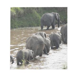 Kenya, No Water No Life Mara River Expedition, 2 Notepad