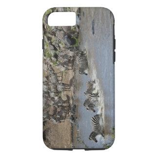 Kenya, No Water No Life Mara River Expedition, 3 iPhone 7 Case