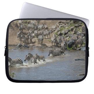 Kenya, No Water No Life Mara River Expedition, 3 Laptop Sleeve