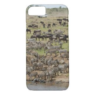 Kenya, No Water No Life Mara River Expedition, 5 iPhone 8/7 Case